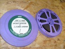 One 1984 Vintage Projector Film, Football - 16mm reel - L.A. Rams vs. Bears
