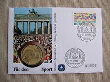 NUMISBRIEF: 10 Mark 1972 F, Olympische Spiele - Deutsche Sporthilfe, 1991 !!