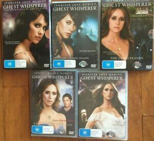 GHOST WHISPERER season 1 2 3 4 5 THE COMPLETE SERIES DVD region 4