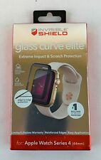 Zagg InvisibleShield Glass Curve Elite Protector Apple Watch Series 4 44mm