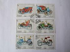 Briefmarken Sharjah Schardscha 1972 Oldtimer  gestempelt unbenutzt