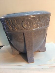 Antique Robinson Ransbottom Pottery Buttress Jardiniere