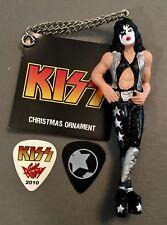 Very Nice Paul Stanley Kurt Adler Ornament & 2 guitar pick package $35+ retail