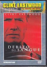 Dvd **DEBITO DI SANGUE** con Clint Eastwood nuovo 2002