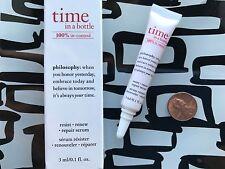 Philosophy Time In A Bottle 100% In-Control Repair Serum * .1 oz Travel Nib