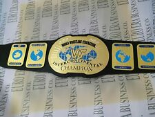 New Replica WWF Intercontinental Championship Belt Old Style Adult Size With Bag
