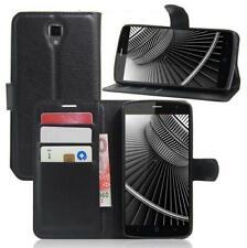 Handyhülle Schutzhülle Handytasche Case Cover für ZTE Blade L5 plus Schwarz