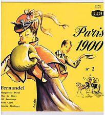 LP PARIS 1900 FERNANDEL MAX DE RIEUX LILI BONTEMPS