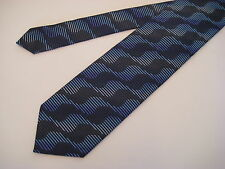 Berend DeWitt Italy 100% Silk Neck Tie - Navy Blue  from Syd Jerome