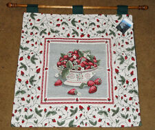 Strawberry Patch Tapestry Wall Hanging