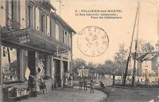 CPA 94 VILLIERS SUR MARNE LE BOIS GAUMONT LOTISSEMENT PLACE DES CHATAIGNIERS (cl