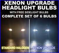 Xenon Upgrade bulb kit Fiat Seicento Sporting H4H3