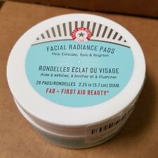 First Aid Beauty❤Facial Radiance Pad❤28 pads❤Exfoliate, Tone & Bright