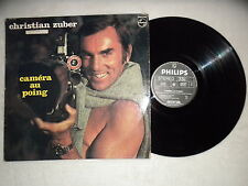 """LP CHRISTIAN ZUBER """"Camera au Poing"""" PHILIPS 6325 046 FRANCE µ"""