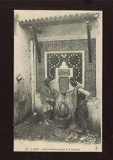 North Africa ALGER Fontaine arabe a la Casbah c1900/10s? PPC
