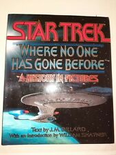 STAR TREK WHERE NO ONE HAS GONE BEFORE HARDBACK BOOK