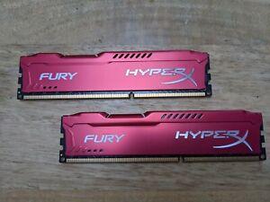 HyperX Fury 16GB DDR3 1866mhz Red (2x8GB)