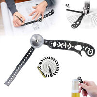 Magcon Ultimate Design Tool Mini Compass Protractor Combo-Circles Drawing ToolEB