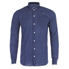 Camisas y polos de hombre de manga larga de color principal azul talla L