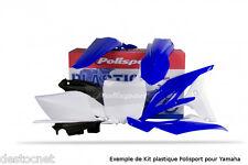 Kit plastiques Polisport  Couleur Origine YAMAHA  WZ 250 F  Année 2010-2013