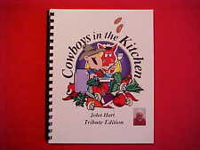 JOHN HART LONE RANGER TRIBUTE EDITION COWBOY COOKBOOK ~ON SALE!!