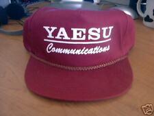 NEW YAESU COMMUNICATIONS HAM RADIO HAT HF RADIO USERS
