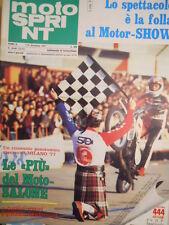 Motosprint 48-49 1977 con Listino Motoprezzi - Speciale Salone Motor Show[SC.31]