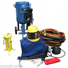 BLAST OFF SERVICES-SAND-SHOT-GRIT-BEAD-MEDIA-AIR-DRY-BLASTING-14'' POT PACKAGE