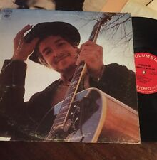 Bob Dylan Nashville Skyline LP 1970s pressing Lay Lady Lay TESTED