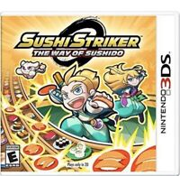 Sushi Striker: The Way of the Sushido Nintendo 3DS Kids Game