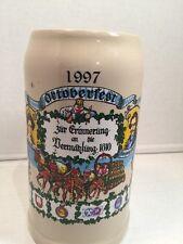 1997 Large German Beer Mug