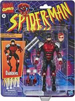 "Marvel Legends Spider-Man Retro Series Daredevil Action Figure 6"" In Stock"
