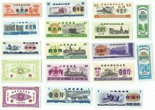 New listing 42 Pcs China Rice Note Unc Set All Different Bills Mixed Years / Denominations