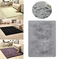 Fluffy Rugs Anti-Skid Shaggy Area Rug Home Room Carpet Floor Mat Kids Playmat US