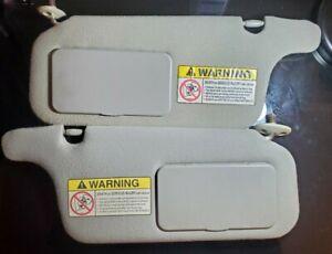 1996-2000 Honda Civic Sun Visor driver & passenger set (gray)