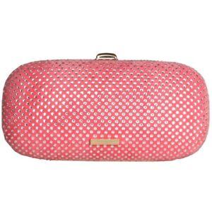 Fornarina Clutch B641X18866 Evening Bag Pink Glitzer Handtasche Damen NEU & OVP