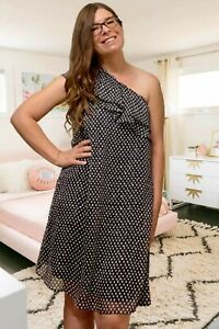 NEW Collective Concepts for a Pea in the Pod One Shoulder Maternity Dress Small
