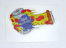 Pabst Blue Ribbon Beer PBR ART Limited Edition Pizza Oven Mitt Sticker
