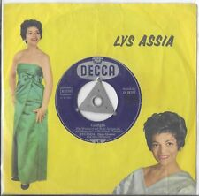 "Lys Assia ""Giorgo"" Eurovision Switserland 1958 German pressing"