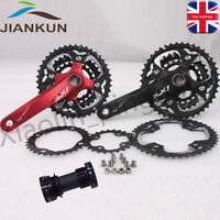 MTB Bike Crankset BB Triple 10 Speed Chainset 104/64mm BCD 24/32/42T Chainring