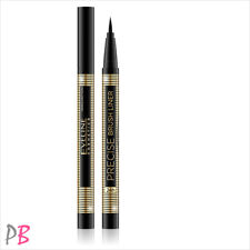 Eveline Cosmetics Precise Brush Eyeliner Black Liner Eye Tattoo Black