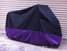 XXL Purple Motorcycle Cover For Harley-Davidson FLHR Road King FLHX Street Glide