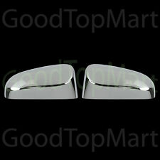 For Toyota Yaris 12-15 Chrome Top Mirror Covers W/out Turn Light Cutout