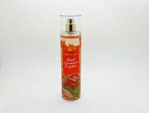 Bath And Body Works Fine Fragrance Body Mist Sweet Cinnamon Pumpkin New Stock