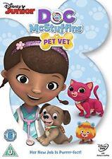 Doc McStuffins Pet Vet [DVD] New Sealed UK Region 2 - Disney