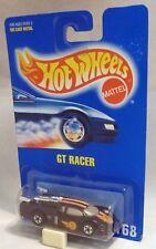 Hotwheels 168 GT RACER Mural Noir Roues carte bleue