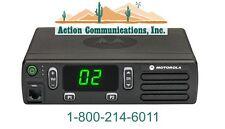 NEW MOTOROLA CM200d, DIGITAL/ANALOG VHF 136-174 MHZ, 45 WATT, 16 CH 2-WAY RADIO