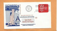 SHUTTLE ACOUSTIC TEST PROGRAM MAR 8,1979 MARSHALL SPACE  SPACE VOYAGE  COVER