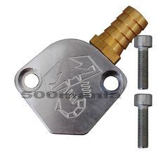 Sfiato aria/olio per modifica pompa benzina - per Fiat 500/126 - Logo Abarth