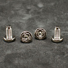 For ROCK ISLAND 1911 Grip Screws Fits All 1911 Grips Models Nickel plated 4 pcs
